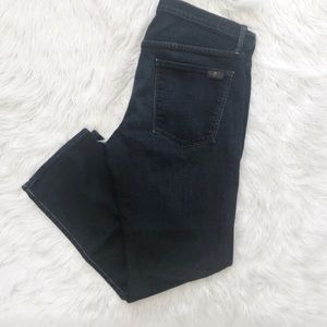 7 For All Mankind Slimmy Slim Straight Jeans 34